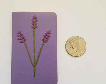 Mini Notebook: Lavender