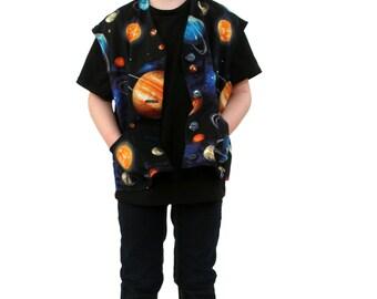 Space Unisex Vest Waistcoat