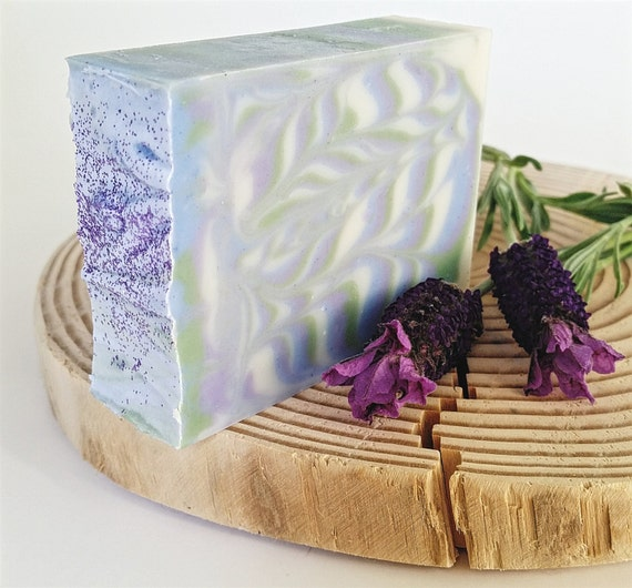 Lavender vegan soap handmade soap grandma gift ideas by annboyar - Homemade soap with lavender the perfect gift ...