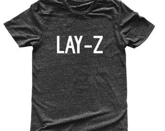 SALE* SMALL Unisex Tri-Blend T-Shirt LAY-Z