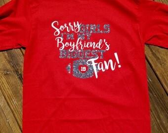 Football Girlfriend shirt -long-sleeve