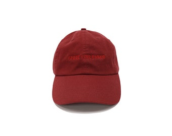 """Official """"I Feel Like Pablo"""" Hat Maroon Red TLOP 