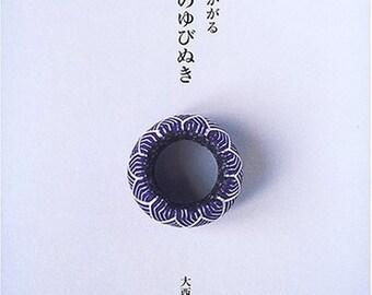 TRADITIONAL JAPANESE YUBINUKI Japanese Thimble Silk Handicraft Book