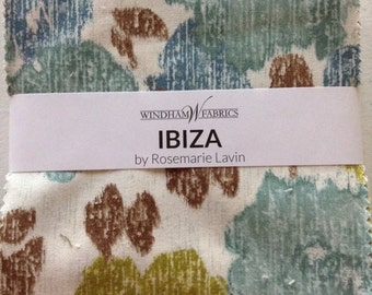 Ibiza Charm Pack  by Rosemarie Lavin for Windham Fabircs