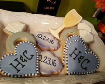 Bridal Shower Sugar Cookies
