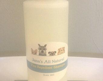 Flea Repellent Shampoo for Dogs- NON-TOXIC, All Natural, Organic, Vegan