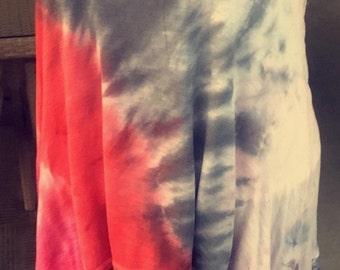 Repurposed Lacy Tie Dye