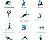 Yoga for Writers Poster