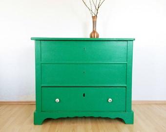 VINTAGE Dresser commode 30s, art deco chest shabby