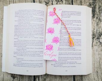 Bookmark Lotus flowers