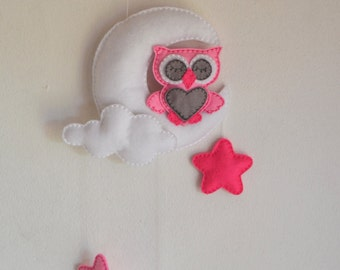ITH Owl Mobile Embroidery Pattern
