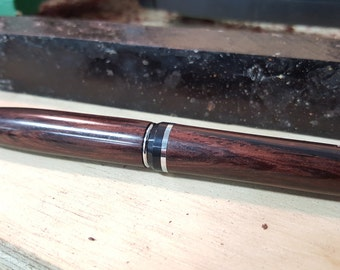 Burmese Blackwood Platinum Cigar Pen