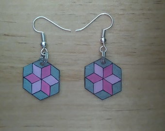 Abstract earrings 1