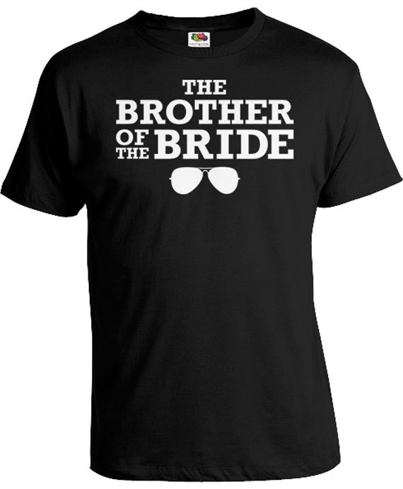 Funny Wedding Gifts Brother In Law Shirt Brother Of The Bride Gifts ...
