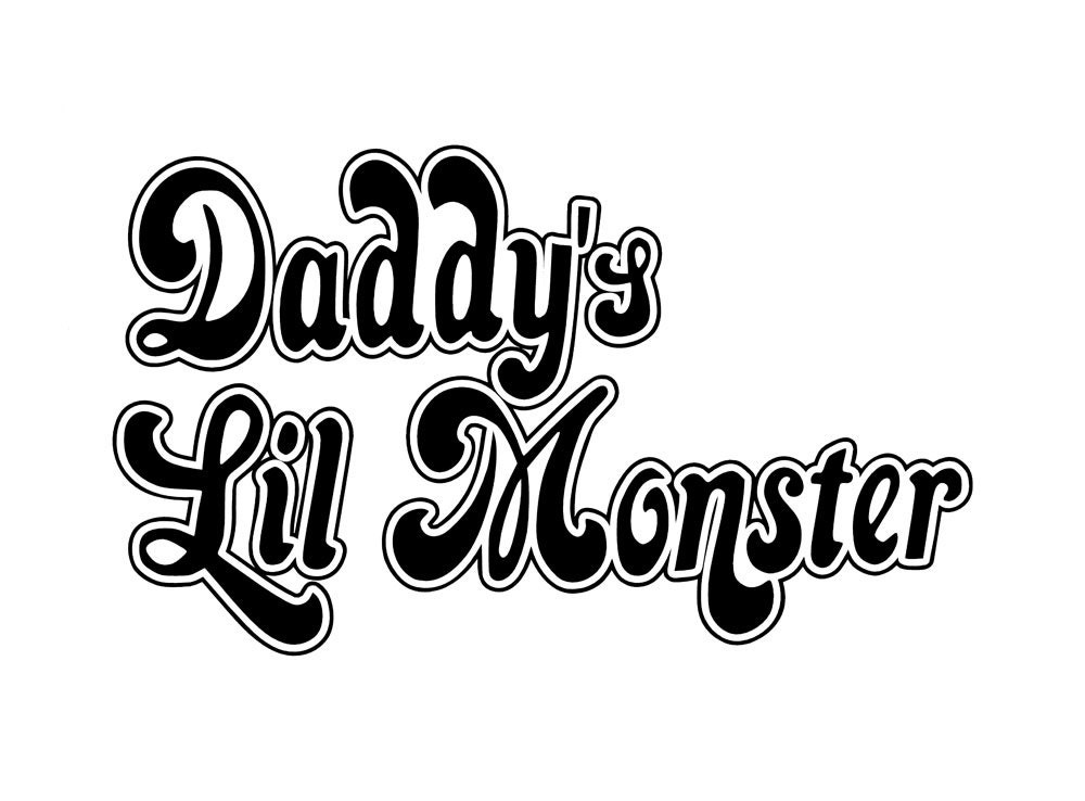 Suicide Squad Daddy S Lil Monster Vinyl
