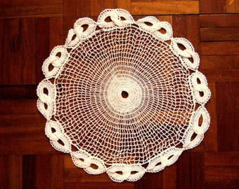 Hand Knitted Cotton Tablecloth,Free Sheeping