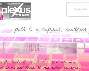Digital* Plexus Slim Sample Card--Instant Download