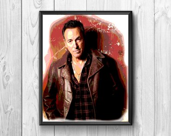 Bruce Springsteen American rock singer of international fame