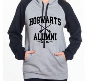 Hogwarts Alumni - Harry Potter Inspired Color Block Hoodie
