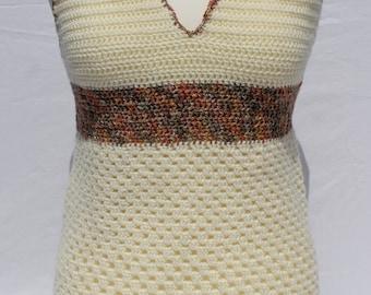 """pretty summer crochet top """"summer glow"""""""
