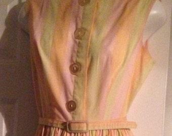 Ladies Vintage 60's Vicky Vaughn Dress