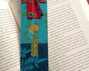 Kimono Bookmark (red dot)
