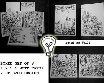BRIGHT IDEAS  Boxed Note Cards