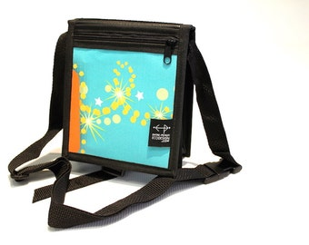 Backpack strap Junior turquoise and orange Montreal
