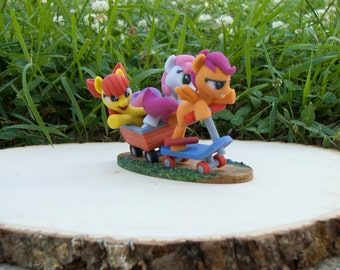 My Little Pony Friendship is Magic Cutie Mark Crusaders Sweetie Bell Scootaloo Apple Bloom Hasbro SuperFanArt Brony MLP Fan Favorite SFA