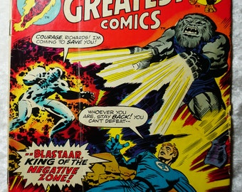 Marvels Greatest Comics #45, Starring Fantastic Four,   Ready To Ship,  Vintage Comics, Graphic Novel