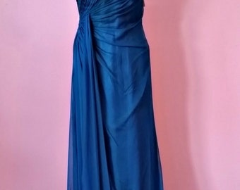 Indie Blue | Turqoise | Favianna Evening Gown | Homecoming