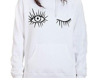 Women Hoodie eye