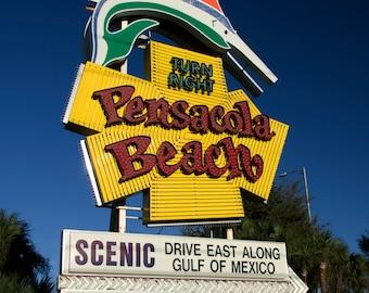 Welcome to Pensacola Beach 8x10 Print