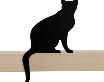 Cat's Meow - Diva - decorative cat silhouette by Artori Design