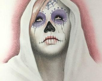 Day Of The Dead / Dia De Los Muertos Girl