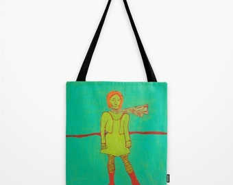 """Tote Bag """"Windy Winter Afternoon 2"""""""