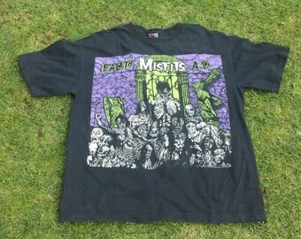MISFITS - Earth A.D. horror punk band t-shirt
