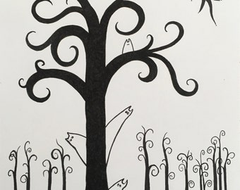 Tree--Signed and Numbered Print