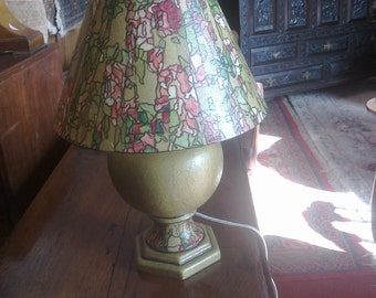 Cottage Garden Table Lamp. Handcrafted totally unique design to create atmospheric light