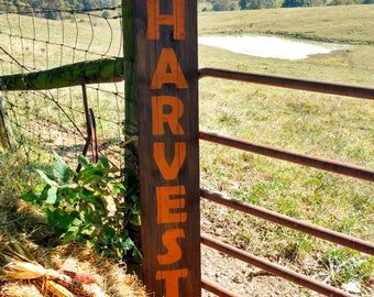 Rustic wooden harvest signs, Fall decor, Fall signs, Autumn decor, Rustic home decor, Harvest signs, Rustic fall decor,Signs for fall