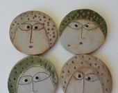 Ceramic Buttons, Original, Handmade, Tara Ross