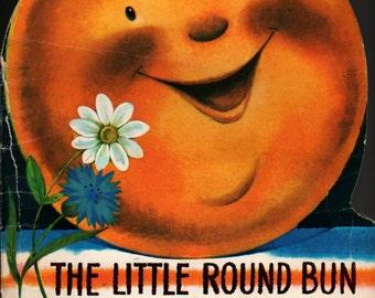 The Little Round Bun a Russian Fairy Tale - V. Kurtchevsky - 1980 - Vintage Kids Book