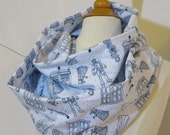 Infinity Scarf Doctor Who Tardis Enemies Ready to Ship