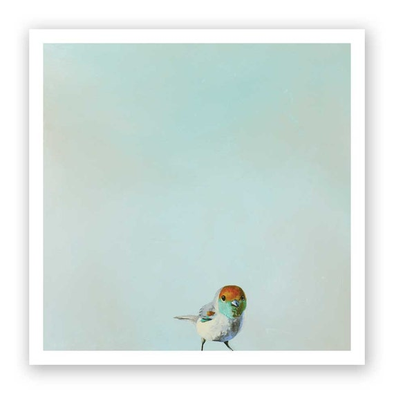 Joey: The Boy Who Fought The Sky And Lost - 12 x 12 Art Print - Giclee -  Bird