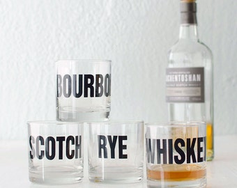 Cocktail glasses - Whiskey, Bourbon, Scotch and Rye