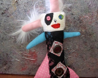 Primitive Plush Folk Art Doll Winnipeg