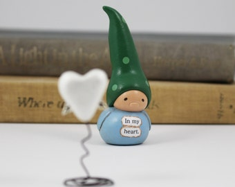 In Memoriam Gnome- Sympathy Gift, Bereavement, Remembrance