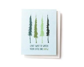 Evergreen Grow Card