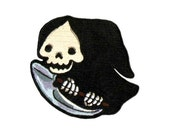 Lil' Grim Embroidered Patch