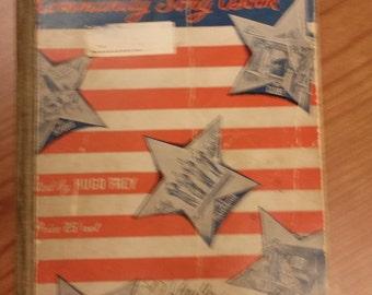 Vintage Music - America Sings Community Song Book 1935 - Americana